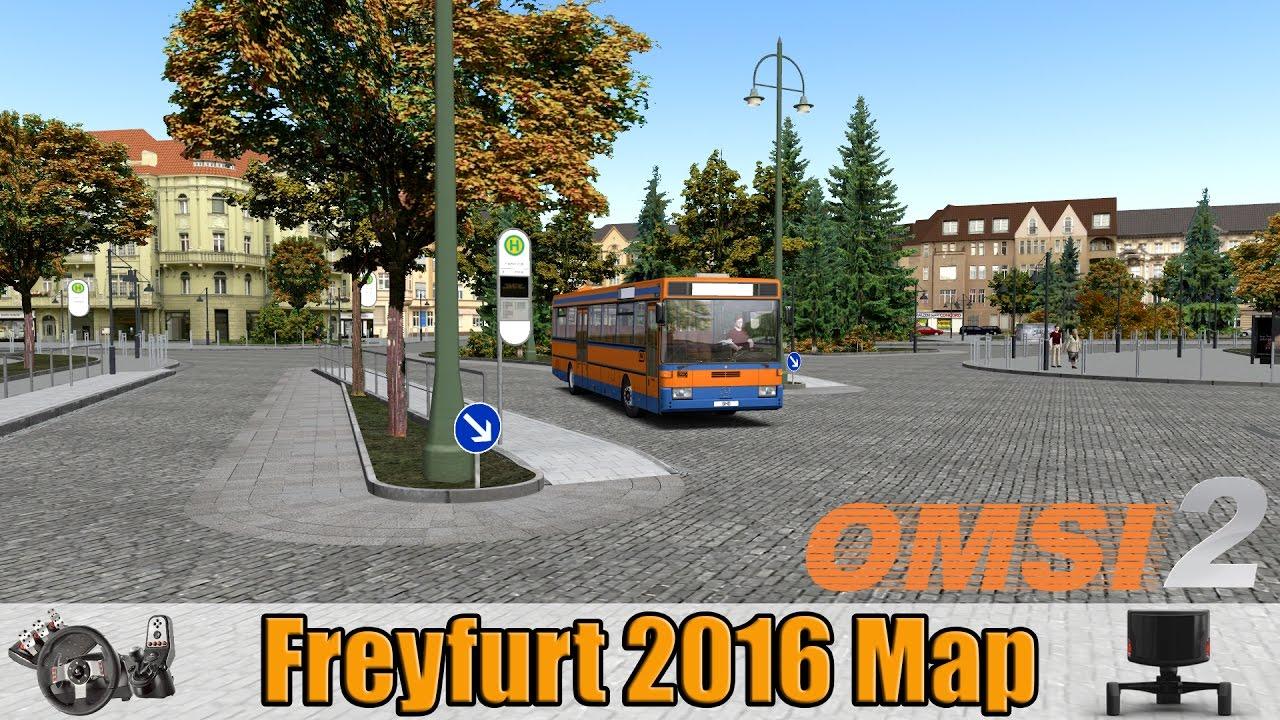 OMSI 2 - Freyfurt 2016 Map - Line 63