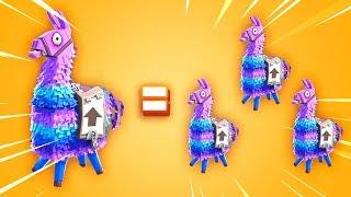 The Fortnite Llama Glitch..