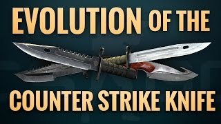 Evolution of the Counter-Strike Knife