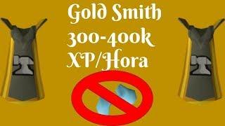 Blast Furnace Gold Smithing NO Ice Gloves 300-400k XP/HR [OSRS] (Español)