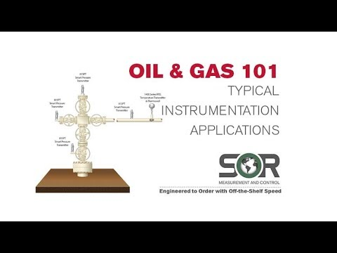 Oil And Gas 101 - Typical SOR Instrumentation Applications