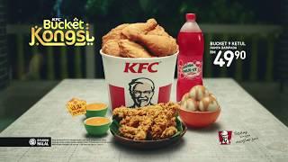 KFC Bucket Kongsi - Indahnya bila berkongsi