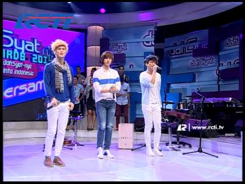 Dahsyat 17 Jan 2014 - Lunafly Boy Band (Cantik Kahitna)
