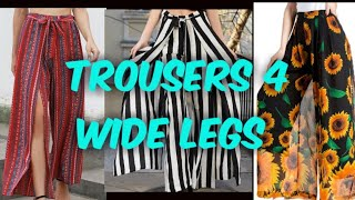 TROUSER COLLECTION /Trousers For Wide legs Women's | Women's Fashion Wardrobe Essentials #trousers