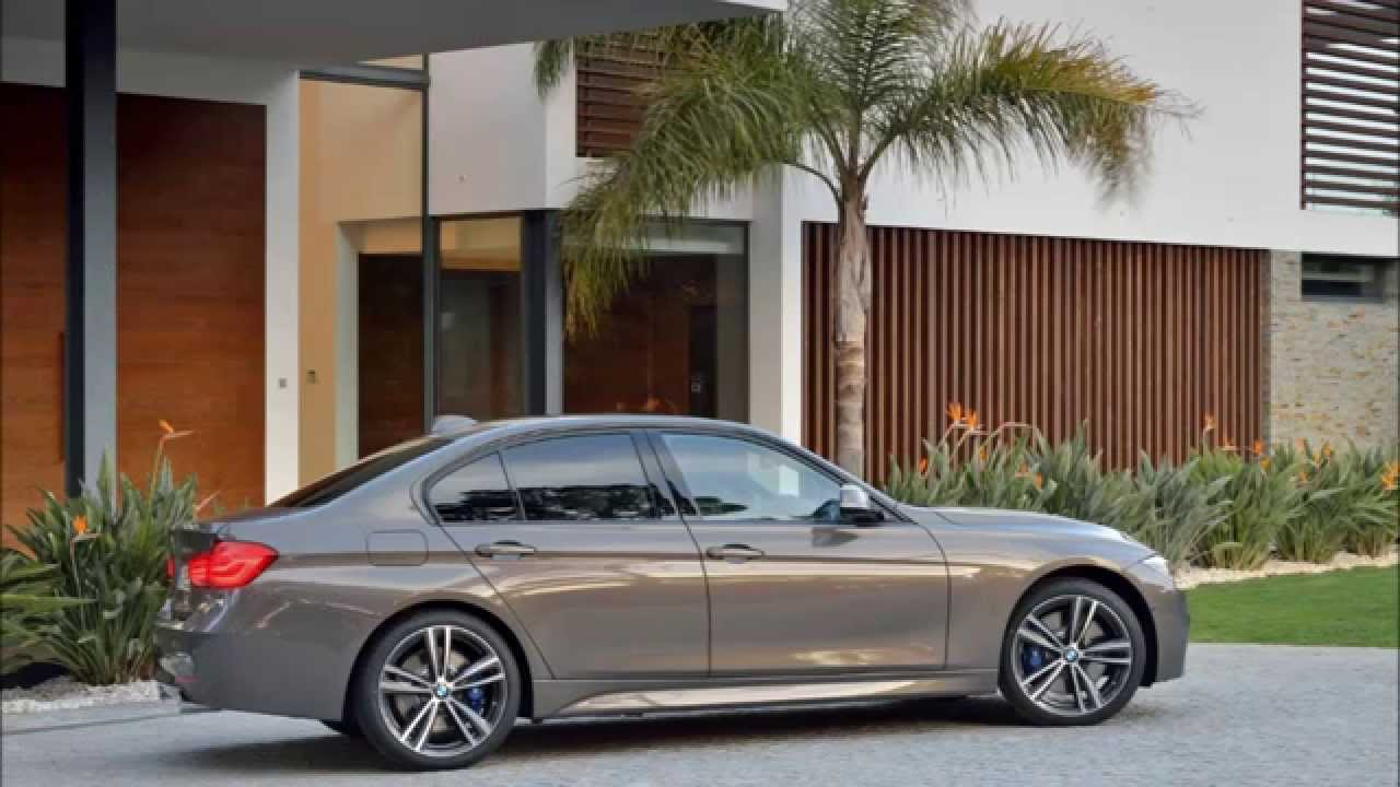 Bmw 3 Series F30 F31 Lci Facelift Official Pictures Youtube