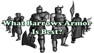 What Barrows Armor Is Best? OSRS Armor Guide