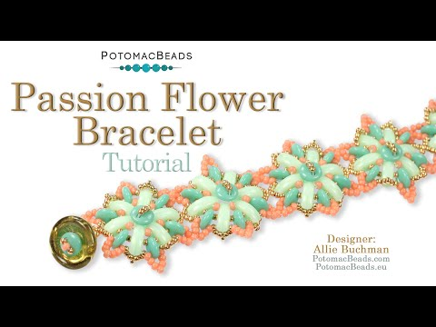 Passion Flower Bracelet (Tutorial)