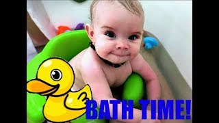 Baby Bath Time Fun!