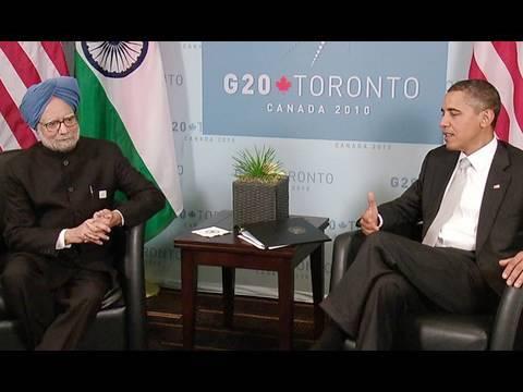 President Obama & Prime Minister Singh at G20 Summit