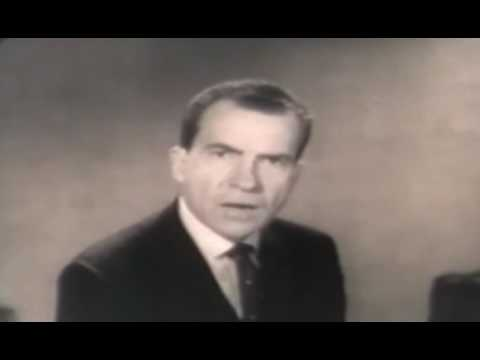 1960 U.S Elections - Nixon talks about Kruschev