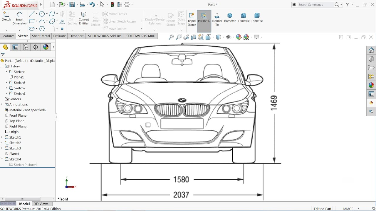 How to insert an image in Solidworks | Solidworks tutorial - YouTube