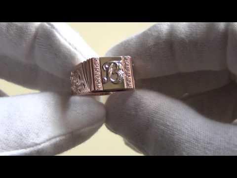 Мужские печатки(золото)