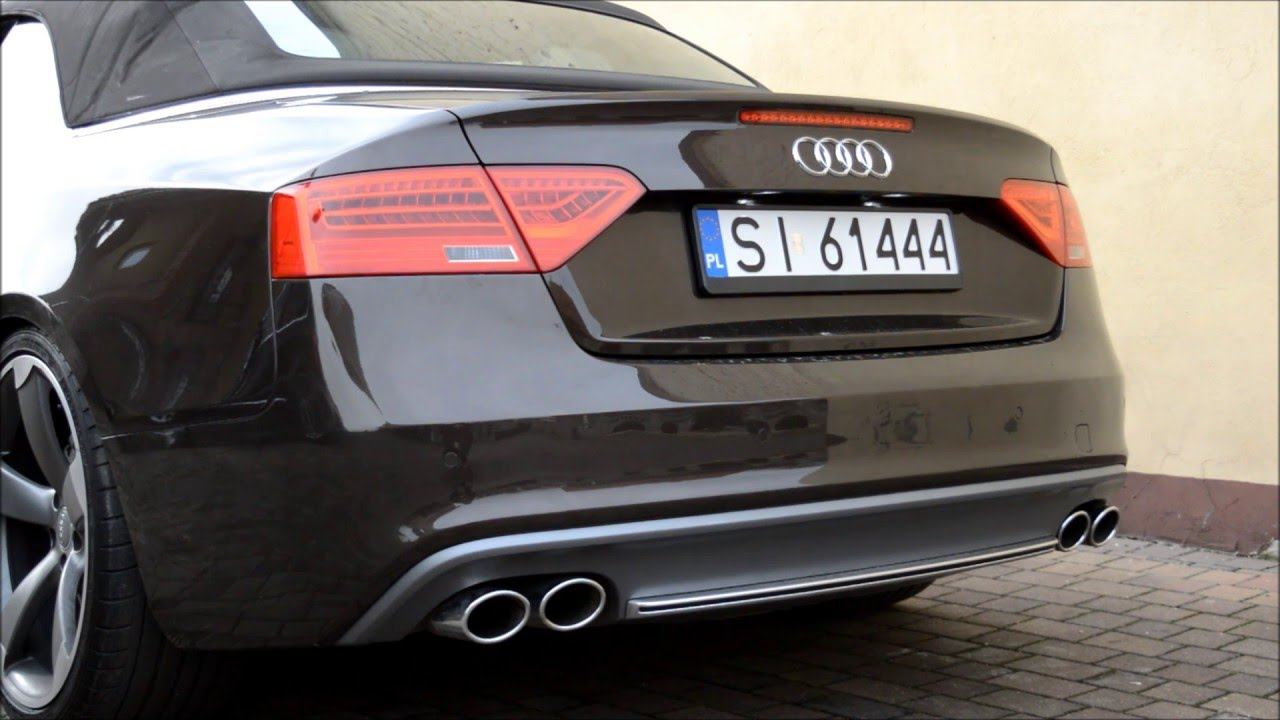 AUDI A5 ACTIVE SOUND SOUND SYSTEM  YouTube