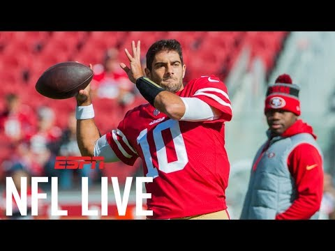 Jimmy Garappolo and San Francisco 49ers agree to $137.5 million deal | NFL Live | ESPN
