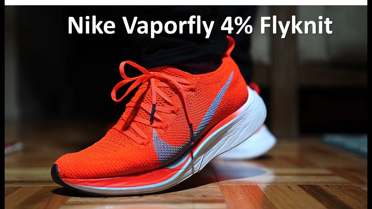 da1a3b94444 Nike Vaporfly 4% Flyknit - Casual Runner s Review - YouTube