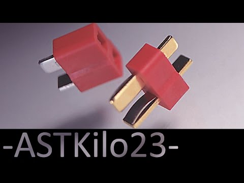 DIY: How To Install A Deans Connector (T-Plug)  -ASTKilo23-