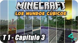 Minecraft - Los Mundos Cúbicos - T1 - Capitulo 3 - Un Día de Exploración - 1080p HD