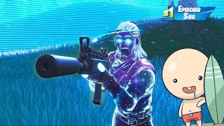 Won with Galaxy Skin and New Weapon | Fortnite Battle Royale