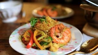 【蘿潔塔的廚房】咖哩炒冬粉,這道料理是 星洲炒米粉變化而來的,換了冬粉,更好吃喔!