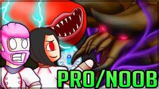 THIS DARKNESS DIABLOS IS RIDICULOUS - Pro and Noob VS Monster Hunter Stories! #monsterhunterstories