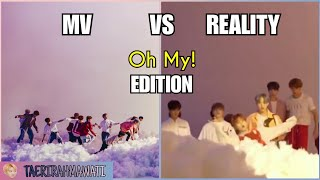 SEVENTEEN MV VS REALITY (OH MY! EDITION)