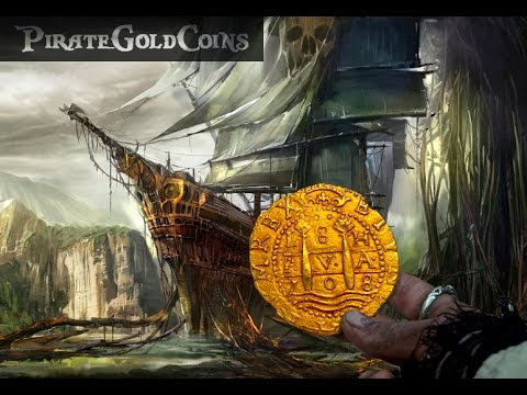 COLLECTING SHIPWRECK GOLD COINS PIRATE PIECES OF EIGHT DOUBLOONS GIMME THE  LOOT TREASURE WEEK