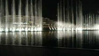 Fountain Dance 1 (classical music backround) in Dubai Mall - Χορός Συντριβανιών 1