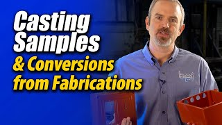 Aluminum Casting samples and conversions from fabrications - Batesville Aluminum Castings