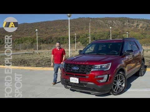 Ford Explorer Sport - Rápida, equipada, segura y también para 7 personas.