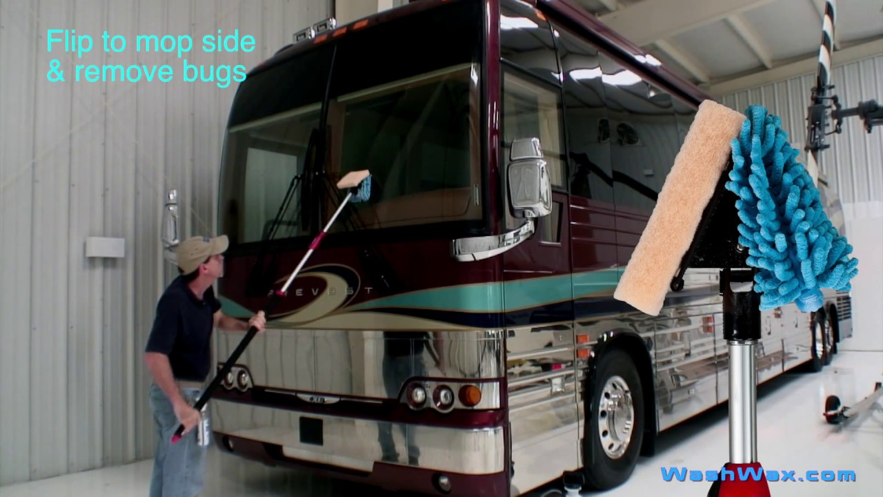 How To Remove Bugs From An Rv Motorhome Bug Remover How To