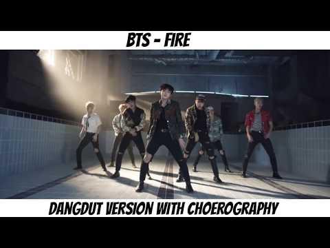 BTS - FIRE 'DANGDUT VERSION' (With Choerography)