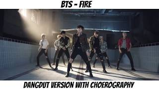 Gambar cover BTS - FIRE 'DANGDUT VERSION' (With Choerography)