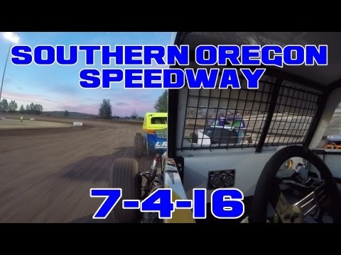 Southern Oregon Speedway 7-4-16