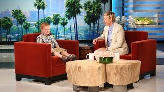 Apparently, Noah Ritter loves dinosaurs, Ellen's PA Robby, and pizza, and apparently, Ellen can't get enough of these fun moments she shared with him.