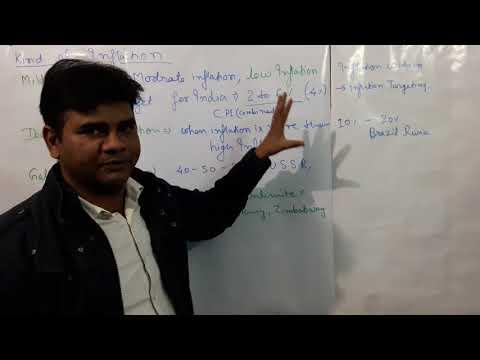 INFLATION (NATURE AND REASON) UPSC CS IES AND NET ECONOMICS