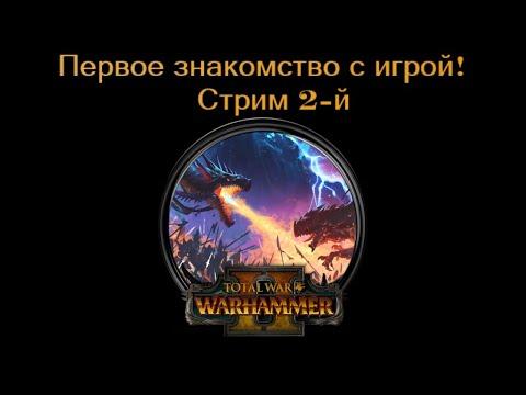 Total War: Warhammer II - первое знакомство с игрой, стрим 2-й