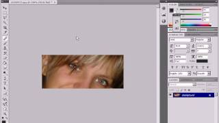 "Removing the ""Red Eye"" Effect in Photoshop (24/29)"