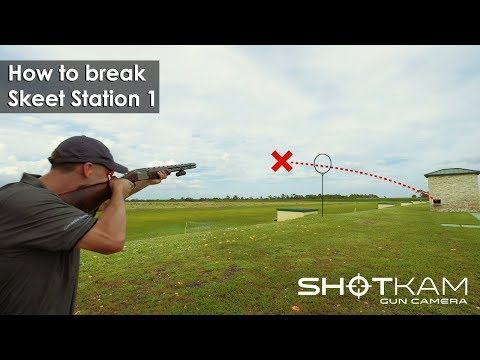 Skeet Shooting Tips - Station 1 - By ShotKam