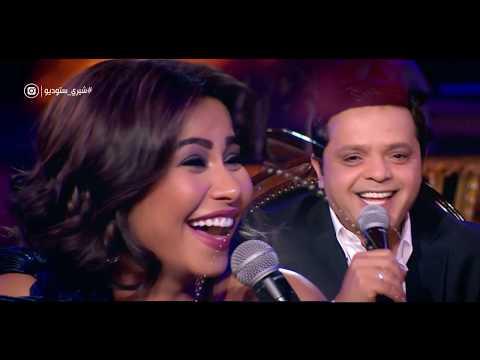 إضحك من قلبك ... 9 دقائق ضحك متواصل مع الكوميديان ' محمد هنيدي '  في عيش الليلة وشيري ستوديو