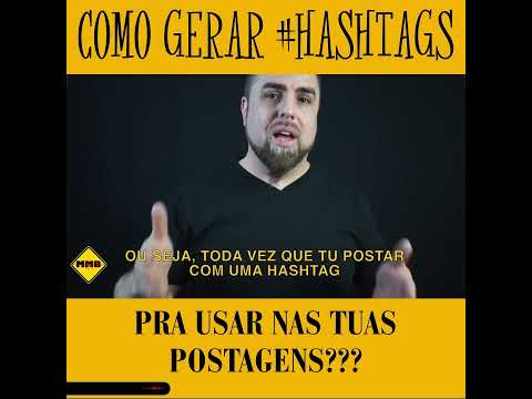 COMO GERAR HASHTAGS - Music Marketing Brasil