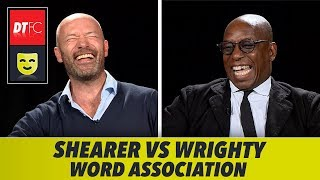 HILARIOUS WORD ASSOCIATION CHALLENGE   With Alan Shearer and Ian Wright