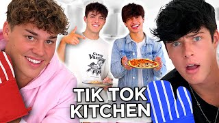 TIK TOK KITCHEN w/ Noah Beck, Blake Gray, Griffin Johnson, & Kio Cyr