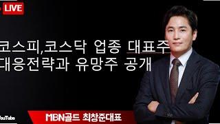 MBNGOLD 최창준 대표~코스피, 코스닥 업종 대표주…