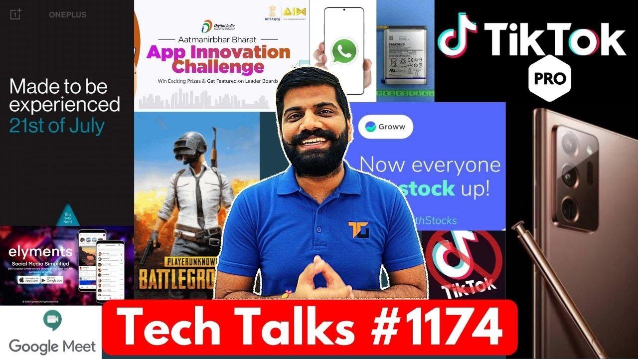 Tech Talks #1174 - TikTok Pro App, OnePlus NORD Launch Date, TikTok Global Ban, PUBG Huge Loss, M41