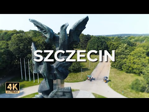 Szczecin z lotu ptaka | Szczecin z drona | LECE W MIASTO™ [4k]