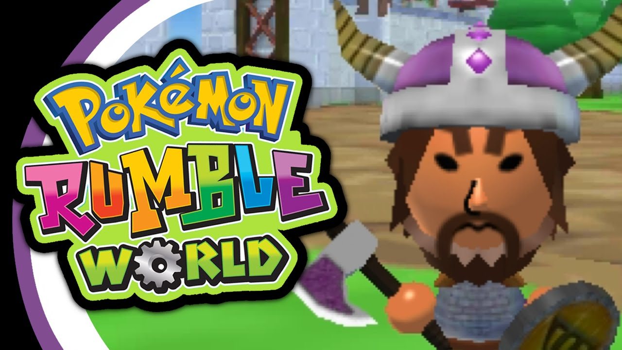 how to play pokemon rumble world