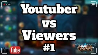Mobile Legends - Dominating Sun Gameplay!! Youtuber vs Viewers Games #1 !!