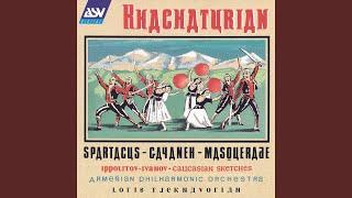 Khachaturian: Spartacus - Suite - Variation of Aegina & Bacchanalia