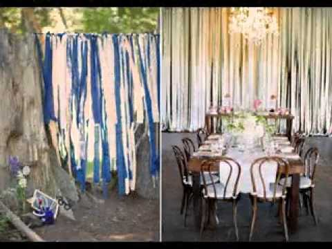 Easy DIY ideas for wedding photo booth decorations