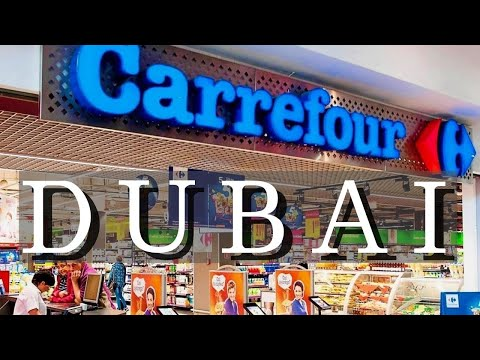 Shopping  in Carrefour - Mall of The Emirates, Dubai, UAE